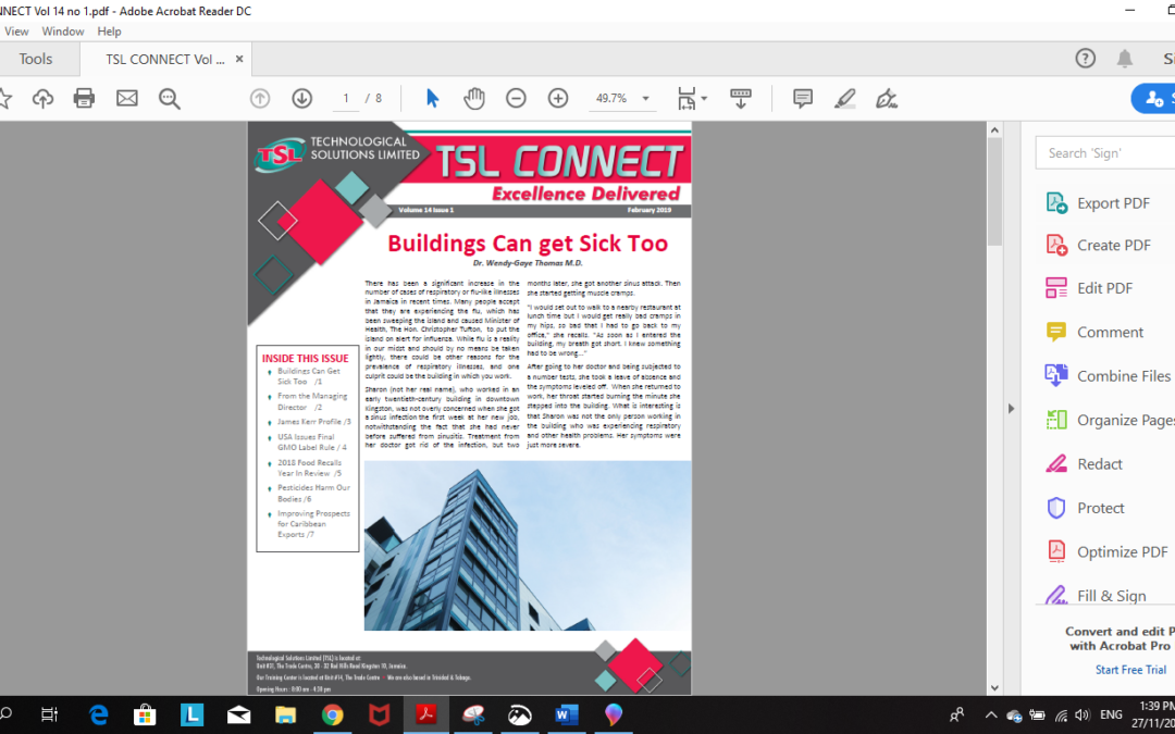 TSL Connect Vol. 14 Issue 1
