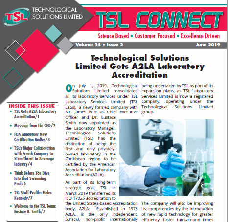 TSL Connect Vol. 14 Issue 2
